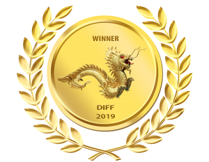 Winner Laurel showing a gold dragon and the text: Winner, DIFF, 2019