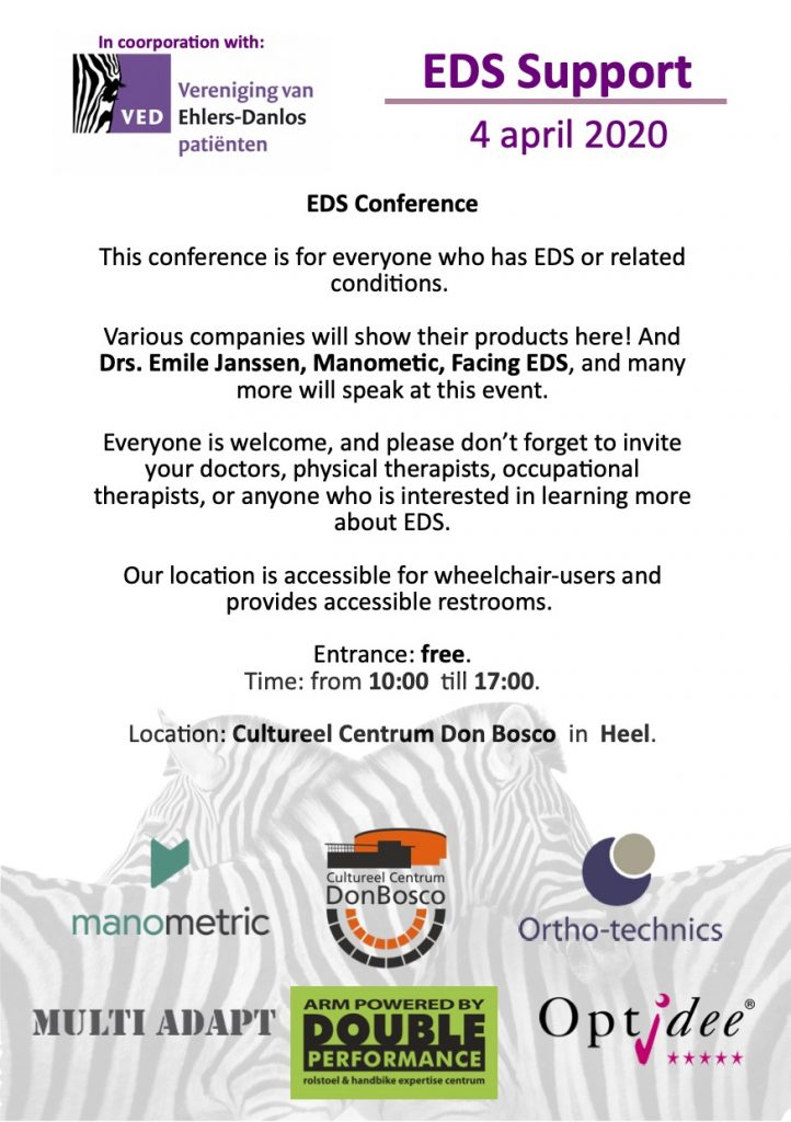 Event Flyer EDS Conference Holland